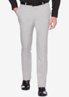 Perry Ellis Portfolio Men's Slim-Fit Stretch Plaid Pants