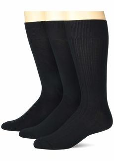 Perry Ellis Portfolio Men's Stay Dry Comfort Socks