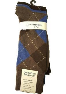 Perry Ellis Portfolio Men's Superior Soft Luxury Socks