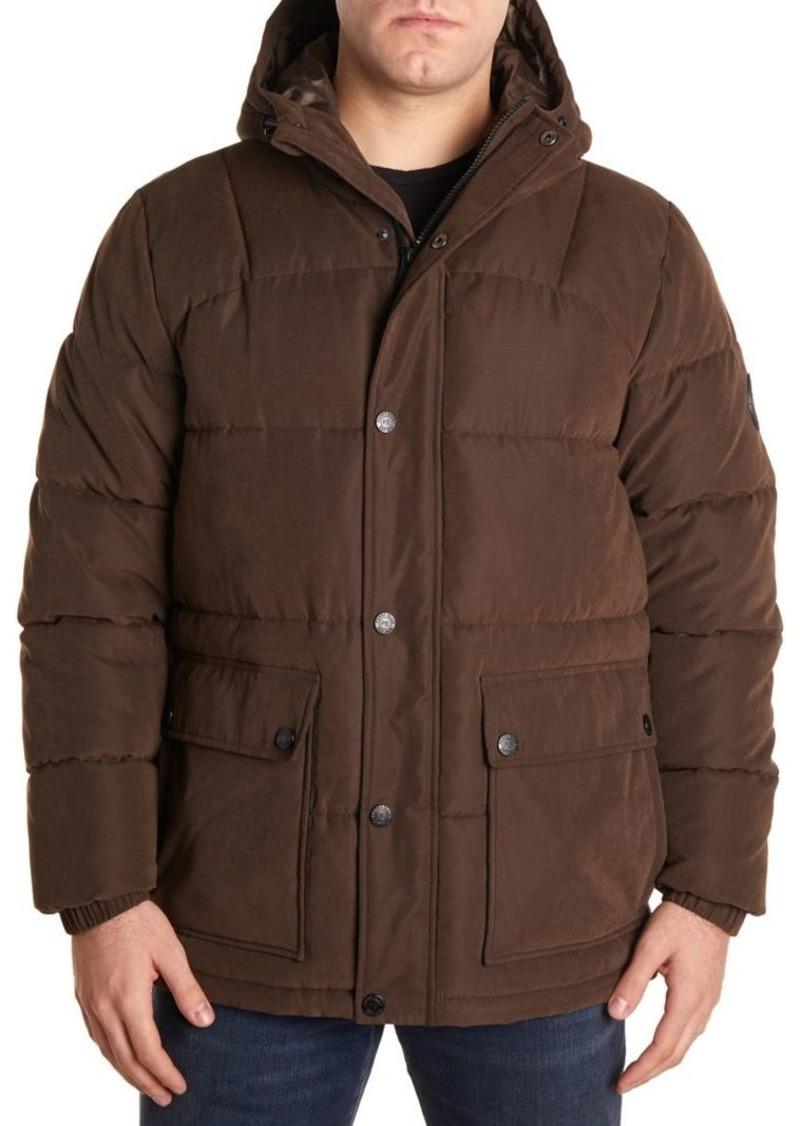 Perry Ellis Portfolio Regular-Fit Hooded Puffer Jacket