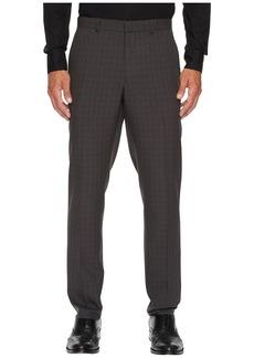 Perry Ellis Slim Fit Mechanical Stretch Tonal Plaid Pants