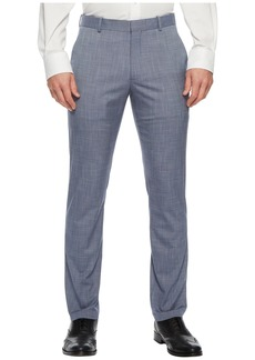 Perry Ellis Slim Fit Stretch Crosshatch Dress Pant