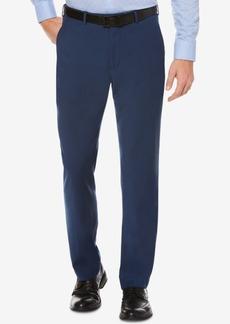 Perry Ellis Portfolio Straight Fit No Iron Flat Front Bengaline Dress Pants