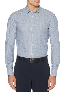 Perry Ellis Print Dobby Shirt