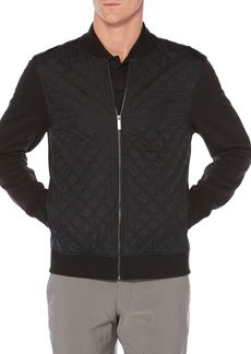 Perry Ellis Quilted Woven Jacket
