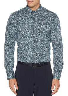 Perry Ellis Regular-Fit Abstract-Print Shirt