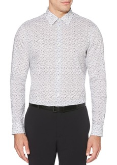 Perry Ellis Regular-Fit Animal-Print Shirt