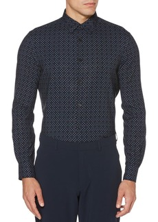 Perry Ellis Regular-Fit Arrow-Print Stretch Shirt