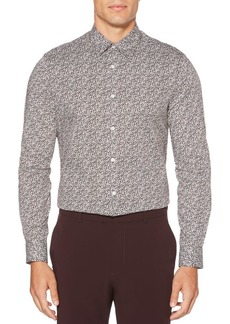 Perry Ellis Regular-Fit Floral Stretch Shirt