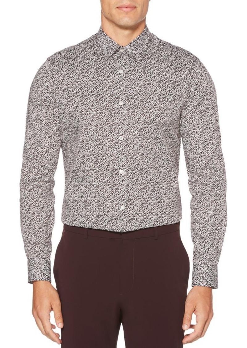 Perry Ellis Regular-Fit Floral Stretch Shirt