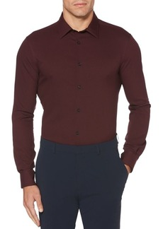 Perry Ellis Regular-Fit Solid Stretch Shirt