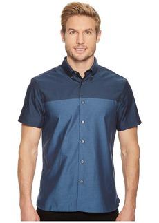 Perry Ellis Short Sleeve Color Block Shirt
