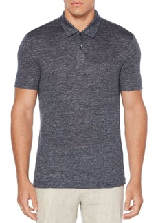 Perry Ellis Short-Sleeve Linen Polo