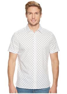 Perry Ellis Short Sleeve Stretch Printed Arrowhead Shirt