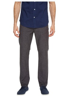 Perry Ellis Slim Fit Solid Linen Pants