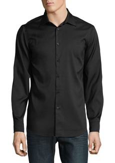 Perry Ellis Slim-Fit Stretch Button-Down Shirt