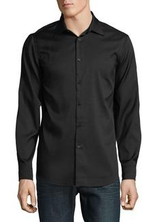 Perry Ellis Slim-Fit Stretch Button-Down Shirt