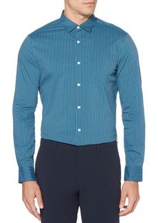 Perry Ellis Slim-Fit Striped Shirt