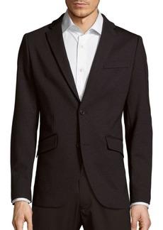 Perry Ellis Slim Straight Heathered Sportcoat