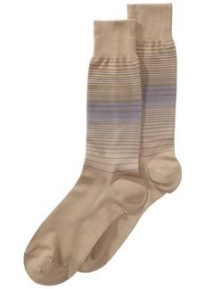 Perry Ellis Striped Dress Socks