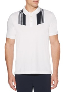 Perry Ellis Striped Polo Shirt