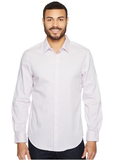 Perry Ellis Subtle Zigzag Print Dress Shirt