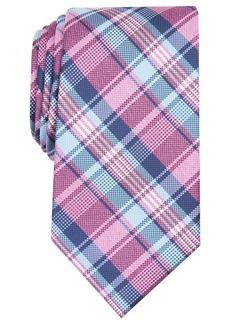 Perry Ellis Woodruff Plaid Tie