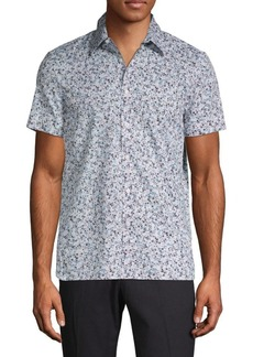 Perry Ellis Printed Button-Down Shirt