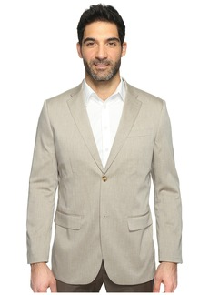 Perry Ellis Regular Fit Stretch Heather Twill Suit Jacket