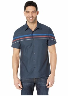 Perry Ellis Sateen Stripe Shirt