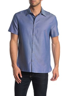 Perry Ellis Short Sleeve Button Down Shirt