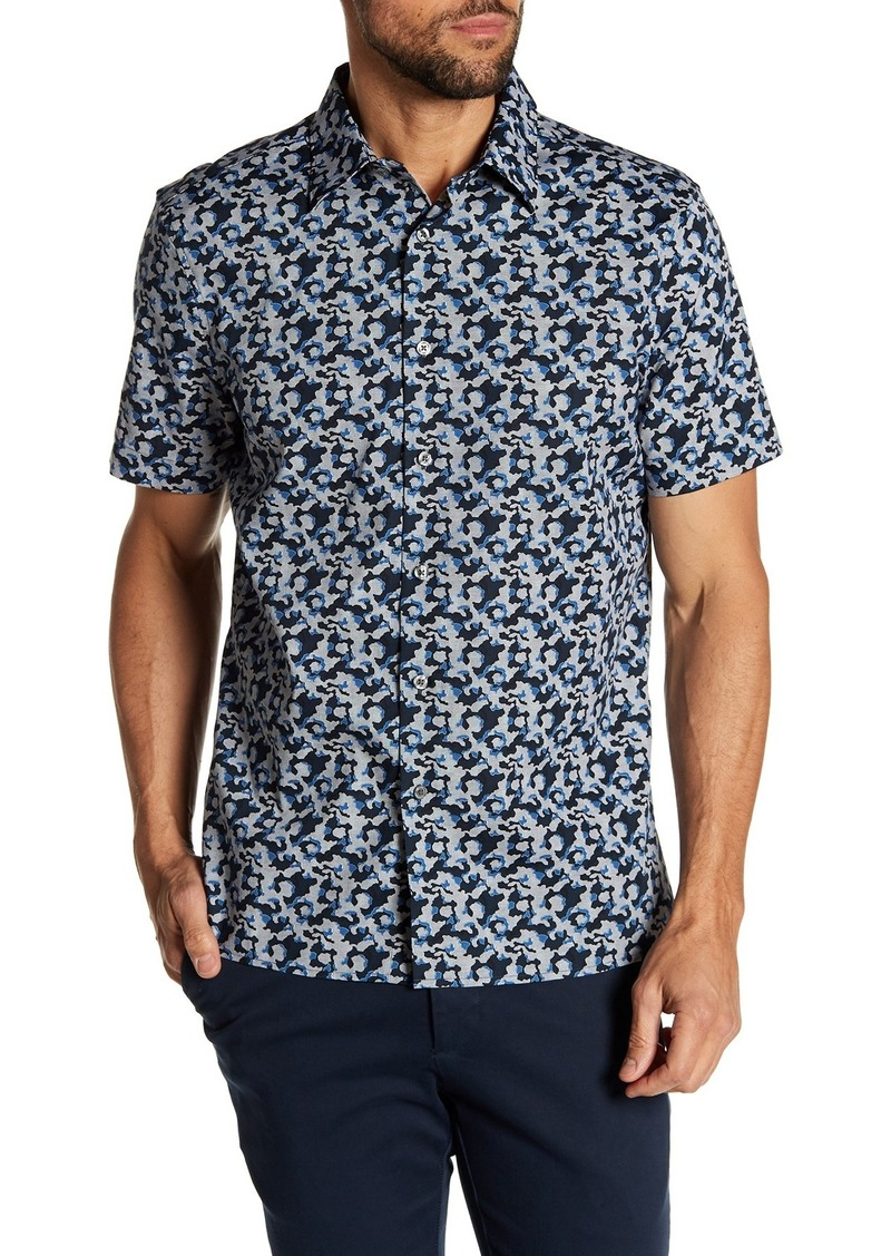 Perry Ellis Cameo Short Sleeve Shirt