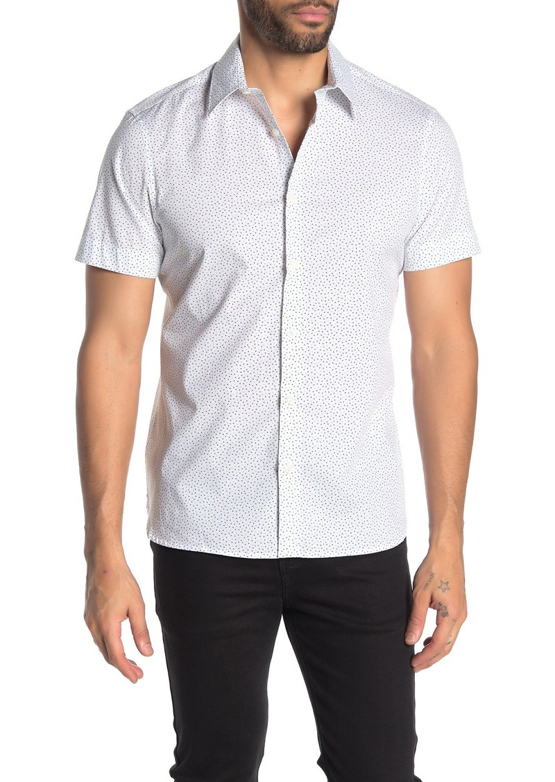 Perry Ellis Short Sleeve Printed Slim Fit Shirt