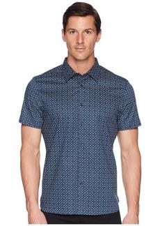 Perry Ellis Short Sleeve Stretch Walkmen Shirt