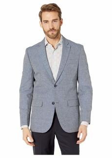 Perry Ellis Slim Fit End on End Linen Jacket