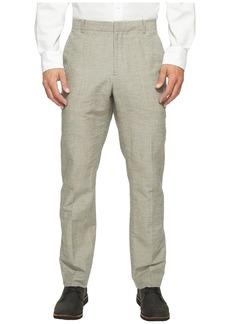 Perry Ellis Slim Fit Linen Cotton End on End Dress Pants