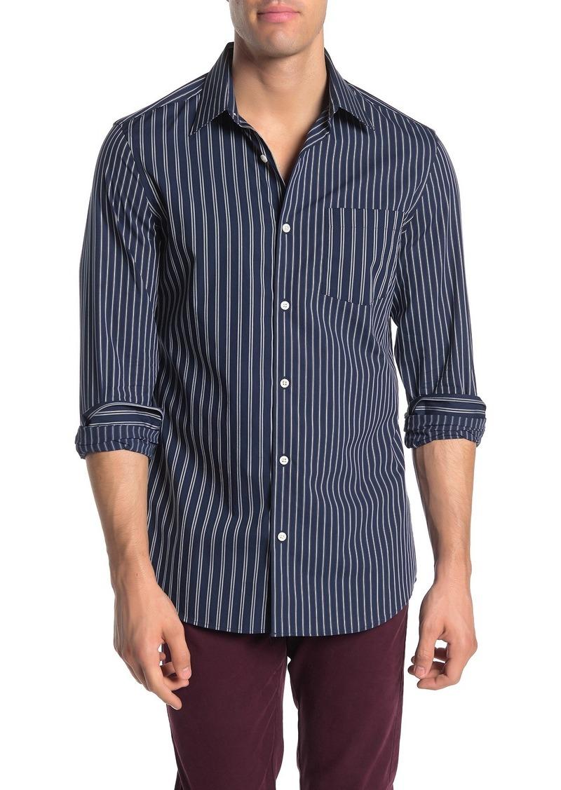 Perry Ellis Slim Fit Long Sleeve Printed Shirt