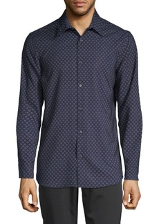 Perry Ellis Slim-Fit Printed Shirt