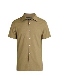 Perry Ellis Slim-Fit Short-Sleeve Shirt