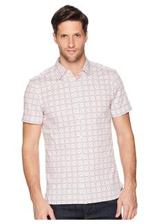 Perry Ellis Slim Fit Stretch Geo Print Shirt