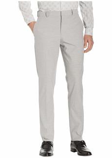 Perry Ellis Slim Fit Stretch Horizontal Striple Tonal Dress Pants