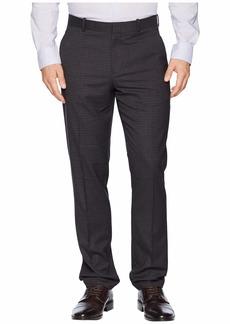 Perry Ellis Slim Fit Subtle Heathered Check Dress Pants