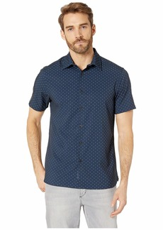 Perry Ellis Slim Fit Total Stretch Micro Motif Shirt