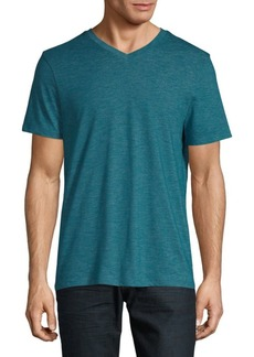 Perry Ellis Slub Short-Sleeve Tee