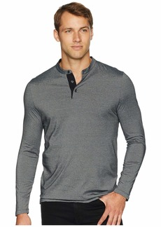 Perry Ellis Striped Henley