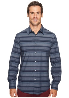 Perry Ellis Wide Engineered Multi Stripe Shirt