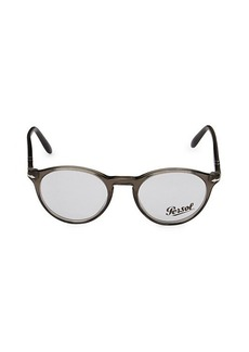 Persol 48MM Oval Optical Glasses
