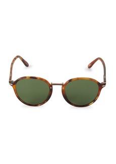 Persol 51MM Havana Wayfarer Sunglasses
