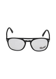 Persol 52MM Square Optical Glasses