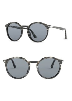 Persol 53MM Round Sunglasses